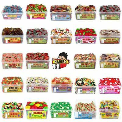 Haribo Giant Sour Strawberries Pick N Mix Tub Bags Sweets  Candy Box Party