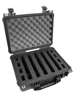 Quickdraw 2 pistol handgun gun Range foam fits upgrades your Pelican ™ 1450 case