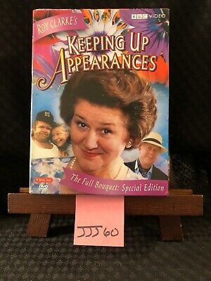 KEEPING UP APPEARANCES COMPLETE SERIES The Full Bouquet 9 DVD SET EXCELLENT BBC