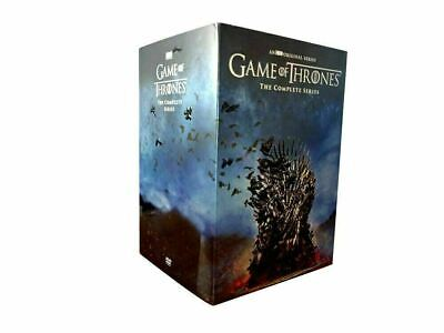 New Game Of Thrones: The Complete Series Season 1-8 38 disc Free Shipping