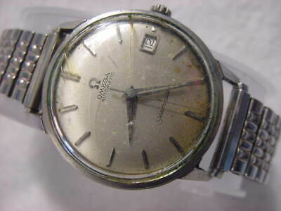 Vintage GOLD FD antique Diver Art Deco 24 JEWELS OMEGA SEAMASTER AUTOMATIC watch