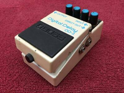 Used BOSS Made in Japan DD-3 DIGITAL DELAY Guitar Effect Pedal Free Shipping JP