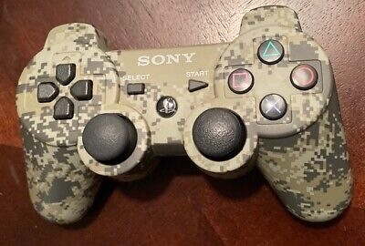 Sony PlayStation 3 OEM DualShock 3 Wireless Controller - Urban Camouflage Rare