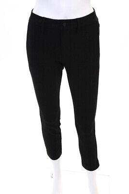 Sanctuary Womens The Intern Casual Mid Rise Skinny Pants Trousers Black Size 25