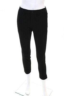 Sanctuary Womens The Intern Casual Mid Rise Skinny Pants Trousers Black Size 28
