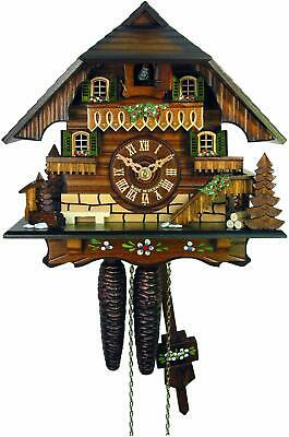 Cuckoo Clock Little Black Forest House Chalet 1-Day Movement August Schwer New