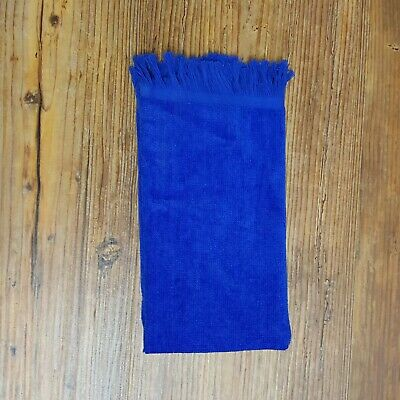 """Towel Overstock, 11"""" x 18"""" - 432 Royal 100% Cotton Velour, Fringed"""