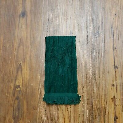 """Towel Overstock 11"""" x 18"""" - 432 Evergreen 100% Cotton Velour, Fringed"""