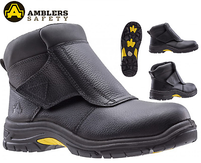 WELDERS SAFETY WORK BOOTS SHOES FLAP FOUNDRY COFRA WELDER BIS UK S3 HRO SRC