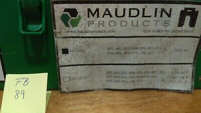 Maudlin Products Slotted Shims Kit C-4