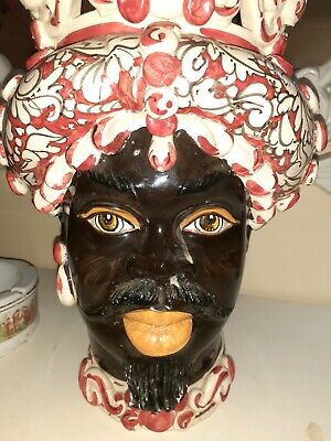 Caltagirone Ceramic Head