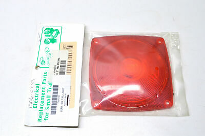 Aftermarket WP9062S Square Tail Light Lens NOS