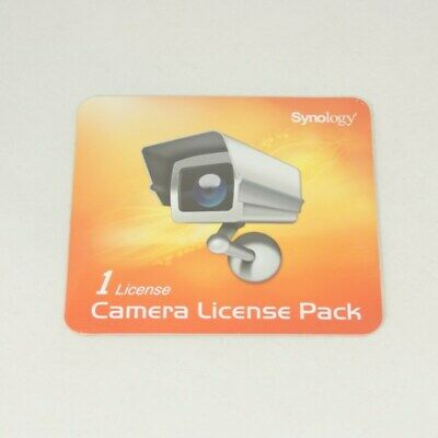 SYNOLOGY Surveillance Device License Pack For Synology NAS - 1 Additional