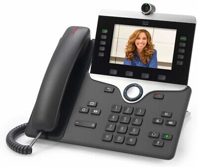 Cisco 8845 IP phone Black Wired handset LCD