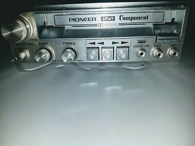 Vintage Pioneer Component Cassette player/UNTESTED/SELLING AS IS..