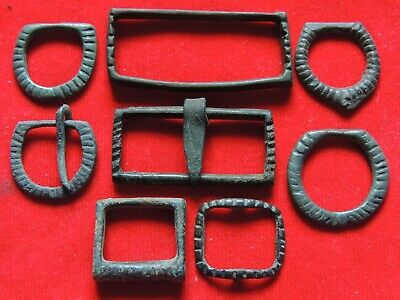 Ancient Bronze Viking Buckles