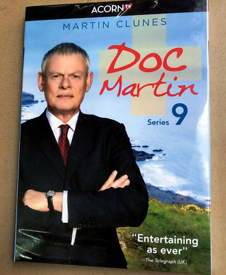 Doc Martin Season 9 DVD Series (3-Disc) New & Sealed Free Shipping Included