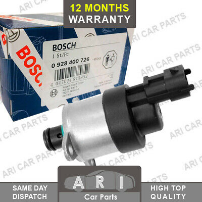 Bosch Fuel Pressure Suction Control Valve For Fiat Ducato Iveco Daily  2.3 D