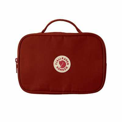 Fjallraven Kanken Toiletry Bag Ox Red - MID SEASON SALE