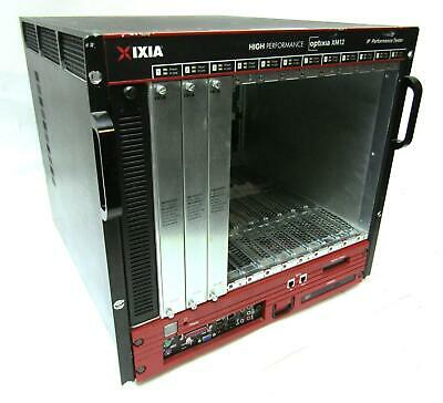 Xixia Optixia XM12 IP Performance Tester Chassis with Management Card