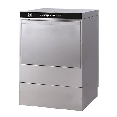 Gastro-inox Dishwasher Electronic with Pump and Dispenser Soap Dispenser