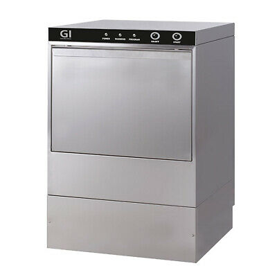 Gastro-inox Dishwasher with Pump and Soap Dispenser 230 V