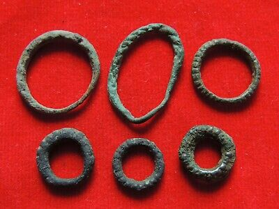 Ancient Bronze Viking Rings