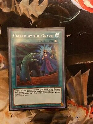 Yugioh GERMAN X3 Called By The Grave DUDE-EN044 Playset 1st Edition NM