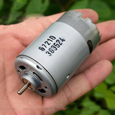 13,500 RPM 12V DC High Power 550 Size DC Motor RS-550PF Motor High Speed