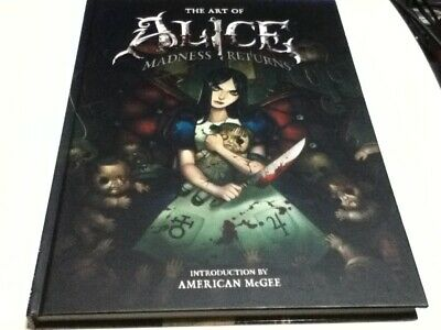 The Art of Alice Madness Returns Art Book Full Color Japan