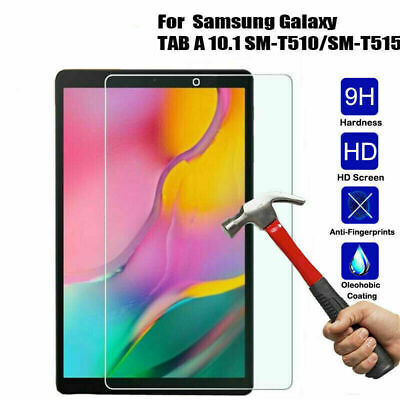 For Samsung Galaxy Tab A 10.1 inch T510/T515 Tempered Glass Screen Protector