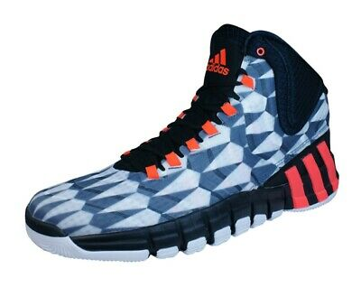adidas Basketball Sneaker Boots Adipure Crazyquick 2 Mens High-Top Shoes White