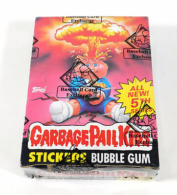 1986 Topps GPK Garbage Pail Kids Series 5 Box +25 cents price (48) BBCE Wrapped