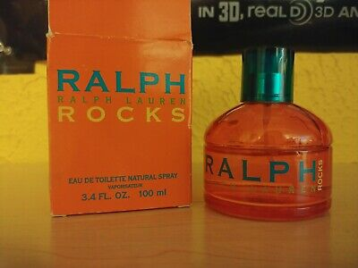 RALPH ROCKS BY RALPH LAUREN 3.4 oz/100 ml Eau de Toilette Women Perfume RARE