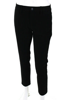 Sanctuary Womens The Intern Casual Mid Rise Skinny Pants Trousers Black Size 27