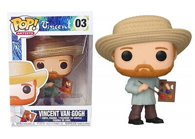 Vincent van Gogh Artist Vinyl Series POP! Vinyl Figure Toy #03 FUNKO NEW MIB