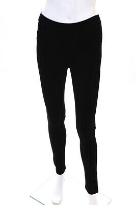 Sanctuary Womens Black Mid Rise Skinny Slim Casual Leggings Pants Size XS