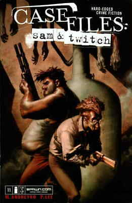 Case Files: Sam and Twitch #11 VF; Image   save on shipping - details inside