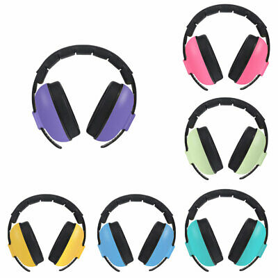 Ne_ Ld_ Adjustable Kids Childs Baby Ear Muff Defenders Noise Reduction Protect