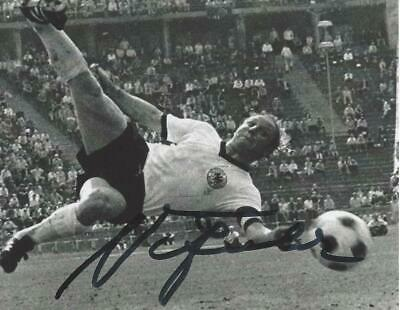 Uwe Seeler-World-Cup-1966-Wembley-Germany-Hamburger Sv-Signed Photo