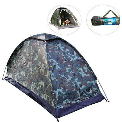Waterproof Ultralight Camping Tent Backpacking Hiking Outdoor Tent 1Person HOT