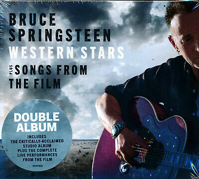 Bruce Springsteen Western Stars Plus Songs From The Film 2-disc CD NEW slipcase