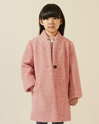 Jigsaw Teddy Coat Girls New Pink