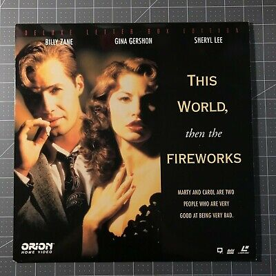This World, Then The Fireworks Laserdisc - Ld