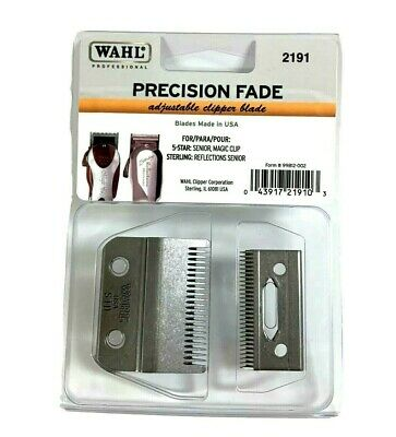 Wahl Precision Fade Blade 5 star For Senior,Magic Clip Clippers #2191 Brand New