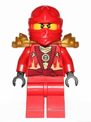 Lego Mini Figure - Ninjago - Kai Rebooted - (njo119)