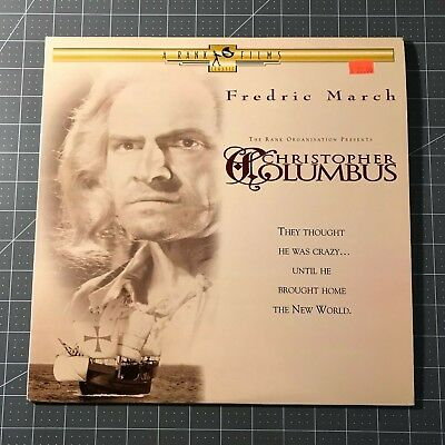 Christopher Columbus Laserdisc - Ld