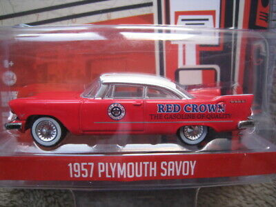 Plymouth Savoy  RED CROWN GASOLINE  1957  RUNNING ON EMPTY  Greenlight  1:64