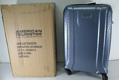 American Tourister Fender 2-piece Hardside Spinner Luggage Set in Slate Blue NWT