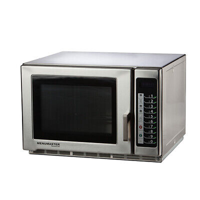 Menumaster RFS518TS Microwave Microwaves Stainless Steel 100 Cooking Programs